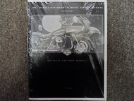 2001 Harley Davidson FLTRSEI2 Models Service Manual Supplement FACTORY OEM NEW