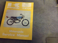 1978 1979 1980 1981 KAWASAKI KM100 KM 100 Service Repair Shop Manual OEM