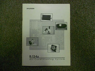 1995 HYUNDAI R 134A a Air Conditioning System Service Repair Manual FACTORY 95