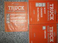 1986 Ford F-150 250 350 BRONCO ECONOLINE Truck Service Shop Repair Manual Set x