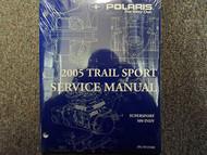 2005 Polaris TRAIL SPORT SUPERSPORT 500 INDY Service Shop Repair Manual OEM NEW