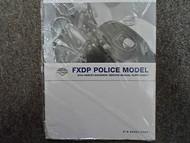 2004 Harley Davidson FXDP Police Model Service Repair Shop Supplement OEM NEW