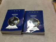 1999 FORD MUSTANG Service Shop Repair Manual Set OEM FACTORY BOOKS BRAND NEW