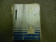 1983 MITSUBISHI Starion Service Repair Shop Manual FACTORY OEM BOOK 83 DAMAGED