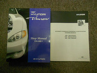 1997 HYUNDAI TIBURON Service Repair Shop Manual Volume 2 VOL SET OEM BOOK 97