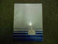 1985 MITSUBISHI Mirage Electrical Wiring Service Repair Shop Manual FACTORY 85