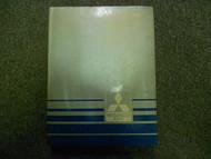 1986 MITSUBISHI Cordia Tredia Service Repair Shop Manual FACTORY OEM BOOK 86