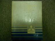1986 MITSUBISHI Galant Service Repair Shop Manual OEM BOOK 86 FACTORY DEALERSHIP