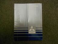 1986 MITSUBISHI Mirage Electrical Wiring Service Repair Shop Manual FACTORY OEM