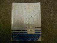 1986 MITSUBISHI Mirage Service Repair Shop Manual FACTORY OEM DAMAGED BOOK 86