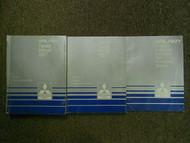 1987 MITSUBISHI Galant Service Repair Shop Manual SET FACTORY OEM 3 VOL SET