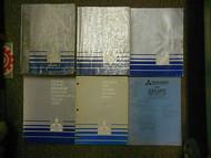 1989 MITSUBISHI Galant Service Repair Shop Manual 6 Volume SET OEM BOOK 89 DEAL