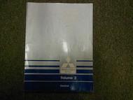 1989 MITSUBISHI Truck Service Repair Shop Manual Volume 2 Electrical FACTORY OEM