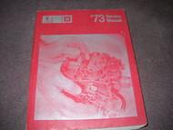 1973 Pontiac FIREBIRD GTO TRANS AM GRAND PRIX Service Shop Repair Manual NEW