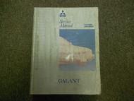 1989 1993 MITSUBISHI Galant Service Shop Manual Volume 1 Chassis Body DEALERSHIP