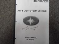 1998 Polaris ATV & Light Utility Service Repair Shop Manual FACTORY OEM BOOK