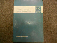 1986 MERCEDES BENZ Models 107 126 201 Introduction into Service Manual OEM DEAL