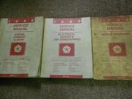 1986 DODGE DAYTONA LANCER LEBARON FWD LE BARON Service Shop Repair Manual Set