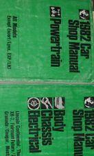 1982 LINCOLN CONTINENTAL Service Shop Repair Manual SET OEM FACTORY 1982 BOOK
