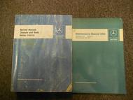 1981 1982 MERCEDES Chassis Body Maintenance Service Repair Shop Manual OEM SET