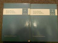 1973 1980 MERCEDES Chassis and Body Series 116 Service Repair Manual OEM SET