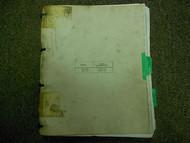 1984 1985 MERCEDES BENZ 201 Electrical Shop Manual FACTORY OEM book 84 85