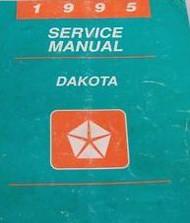 1995 DODGE DAKOTA TRUCK Service Repair Shop Manual OEM 95 FACTORY DEALERSHIP