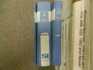 1992 1997 MERCEDES C E S SL 202 124 140 Microfiche Service Information Manual