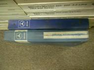 1976 1979 MERCEDES E S CLASS 115 123 116 Maintenance V1 Service Manual OEM