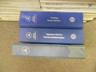 1976 1998 MERCEDES S SLK C CLASS 116 126 170 Microfiche Signature Service Manual