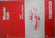 1987 Mazda 626 Electrical Wiring Diagram Service Repair Manual FACTORY OEM RARE
