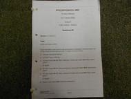 2003 PORSCHE 911 CARRERA Diagnosis Body Auto Trans Service Repair Shop Manual 03