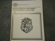 1994 Harley Davidson FLHTP FXRP Police Service Repair Shop Manual Supplement x