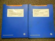 1998 99 00 01 02 VW NEW BEETLE Automatic Suspension Service Repair Manual SET