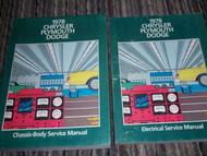 1978 Chrysler REGAL NEW YORKER LEBARON CORDOBA Service Repair Shop Manual Set