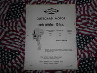 1966 West Bend Chrysler Outboard 10 HP Parts Catalog