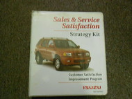 1981 1995 ISUZU HOMBRE OASIS IMPULSE Quick Reference Guide Service Manual OEM 81