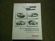 1997 ISUZU LV Owners Reference Book Service Repair Shop Manual FACTORY OEM 97