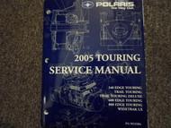 2005 Polaris TOURING MODELS Service Shop Repair Manual OEM FACTORY BOOK 05