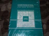 1991 LINCOLN CONTINENTAL Service Shop Repair Manual OEM DEALERSHIP FACTORY 91