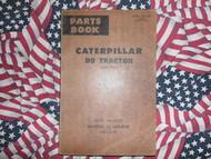 Caterpillar D8 Tractor Part Book 2U15001 Direct Drive