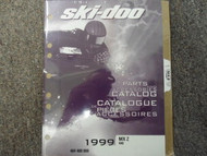 1999 Ski Doo MX Z 440 Parts Accessories Catalog Service Manual Factory OEM