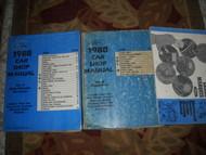 1988 Mercury Grand Marquis Service Shop Manual SET OEM W EVTM EWD HUGE