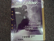 1999 Ski Doo Summit 700 Parts Accessories Catalog Manual OEM