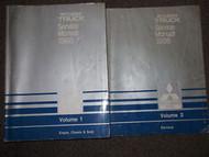 1989 MITSUBISHI Truck Service Repair Shop Manual FACTORY OEM SET 2 VOLUME DEAL