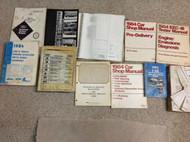 1984 FORD MUSTANG CAPRI Service Shop Repair Manual Set 84 W EWD + TONS