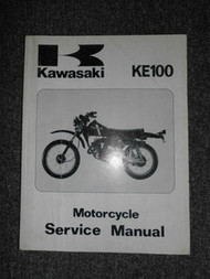 1979-1994 Kawasaki KE100A KE100B Service Repair Shop Manual OEM Motorcycle