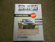 1986 1990 HYUNDAI EXCEL Service Maintenance Tune Up Repair Shop Manual OEM