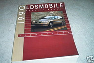 1990 Oldsmobile Silhouette Service Repair Shop Manual Second EDI