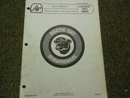 1976 Arctic Cat Pantera Illustrated Service Parts Catalog Manual FACTORY OEM